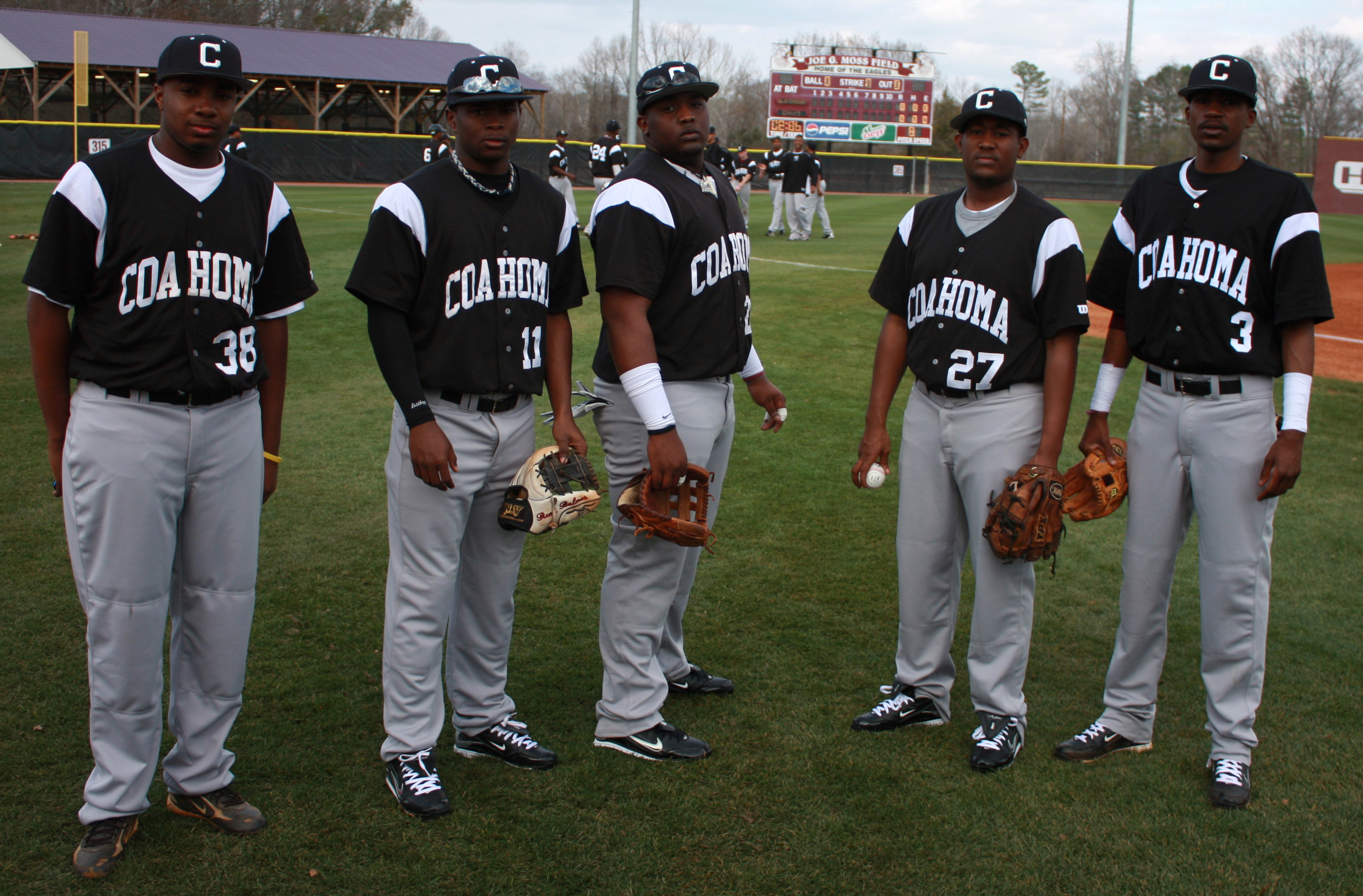 Coahoma Cc Loaded With Former Rbi Players Mississippi Rbi