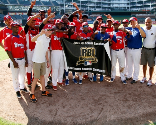 2013 RBI Southwest Regional Tournament Champions. (photo by Ed Gardner)